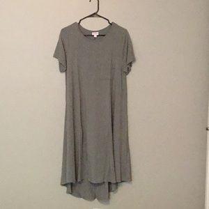 Medium gray dress